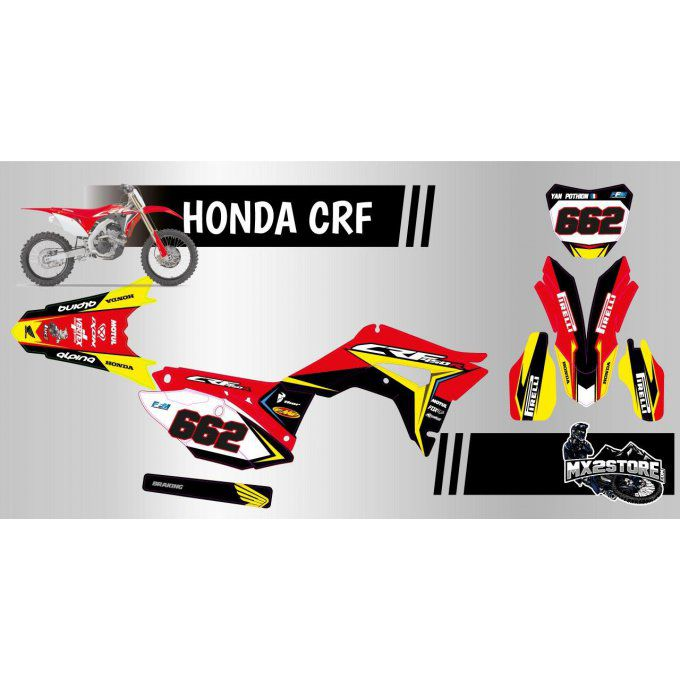 kit deco perso crf 250 / 450