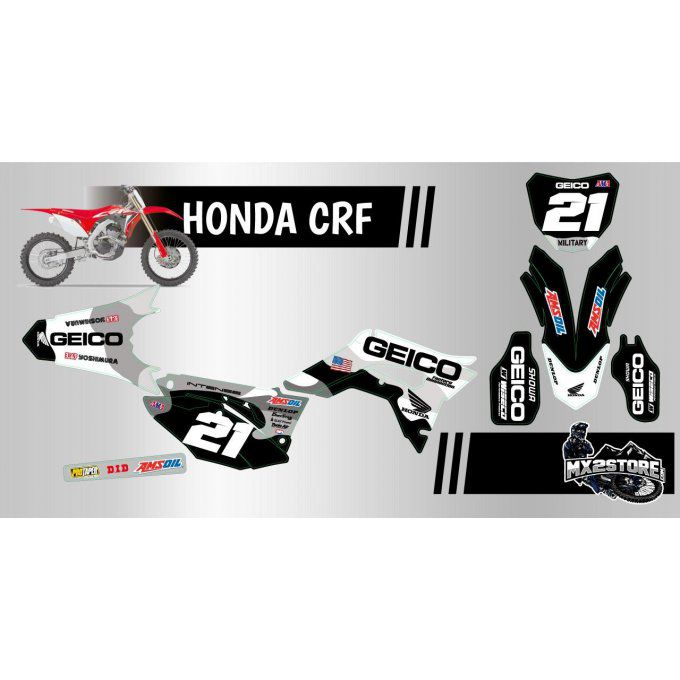 kit deco perso crf 250 / 450 HONDA