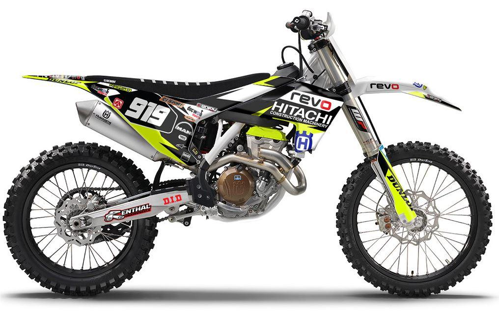 Kit déco HUSQVARNA HITACHI 2016 - 2018