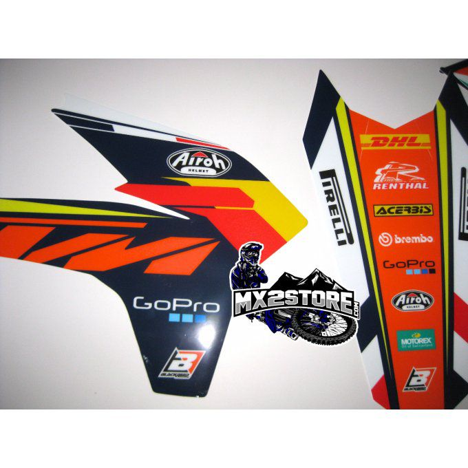 Kit deco KTM SX SXF EXC 125 - 450 - DHL FRANCE