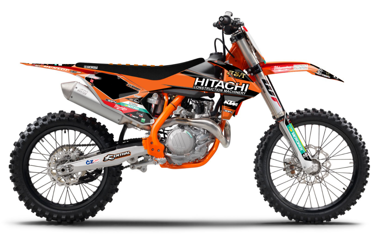 Kit Déco HITACHI  KTM 2016 - 2019