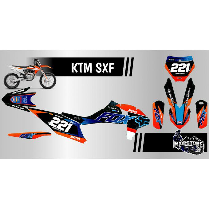 Kit Perso fox KTM SX / SXF / EXC 2000 > 2021
